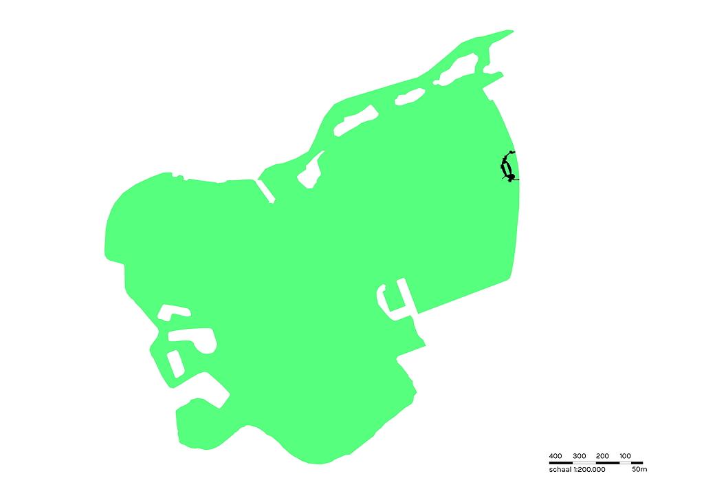 locatie drijvende kade in Zevenhuizerplas